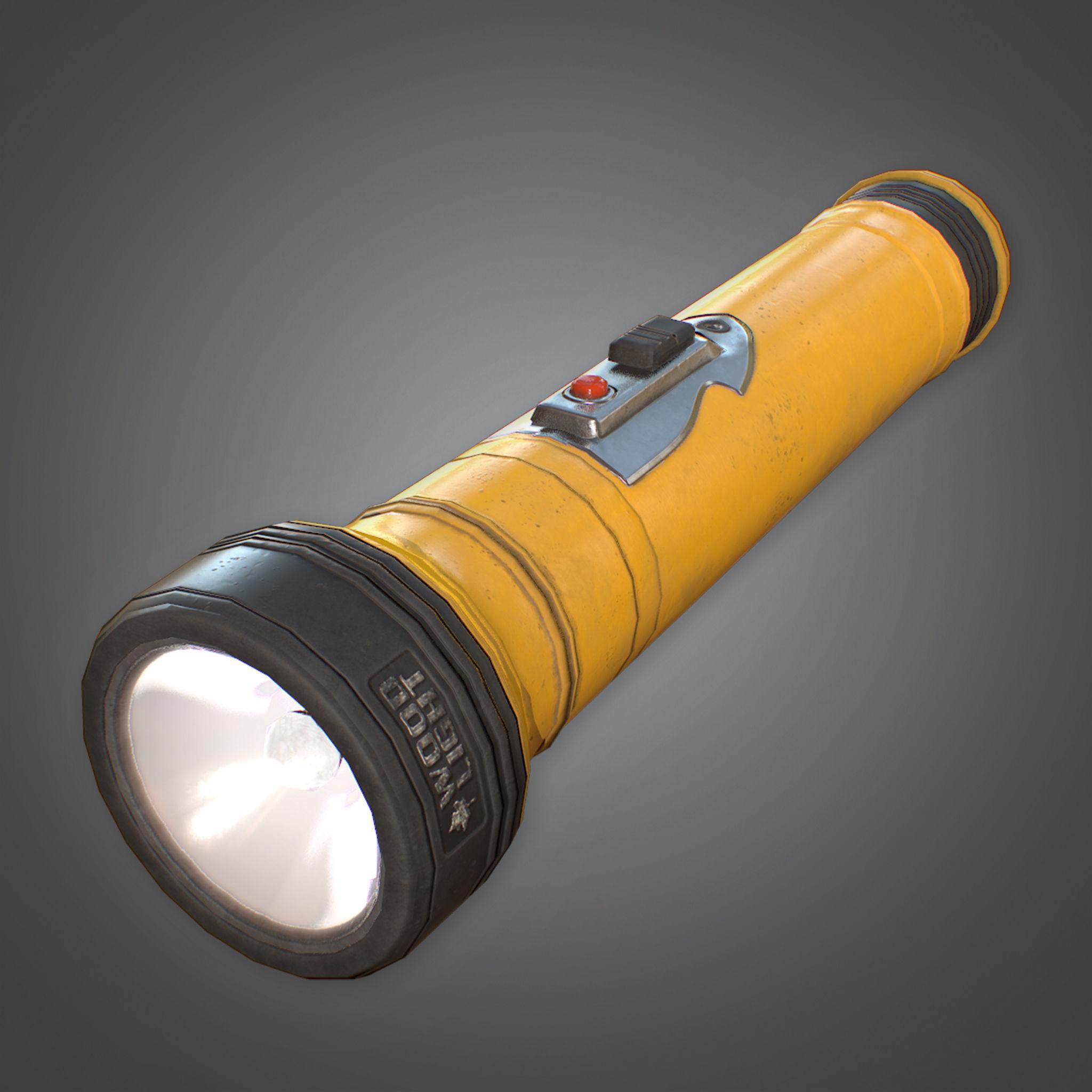 CAM - Flashlight - PBR Game Ready