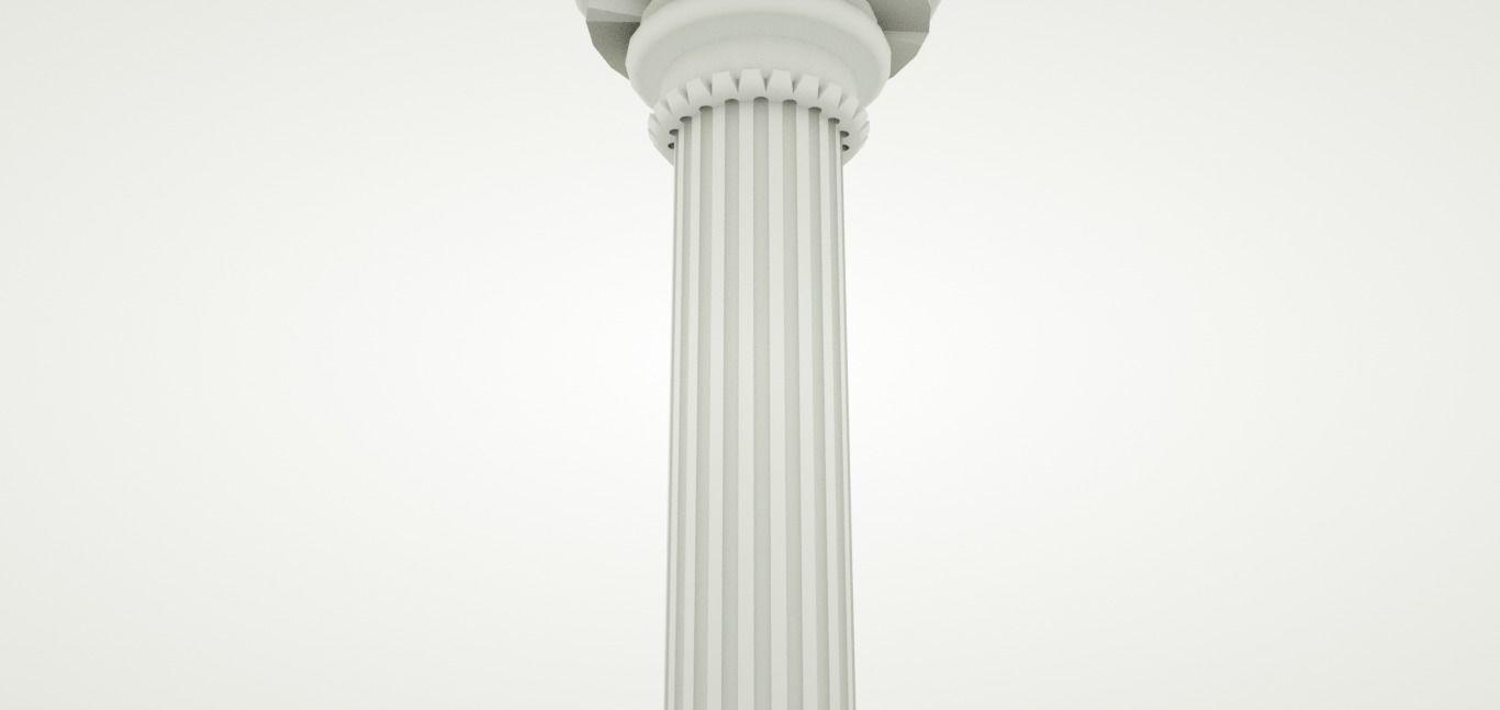 simple Classical column