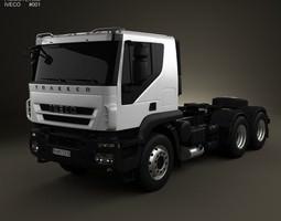 3D model Iveco Trakker Tractor 3-axis 2012