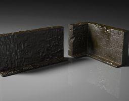 3D printable model Post apocalyptic walls