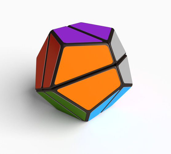 3d dodecahedron cube puzzle 2x2x2 cgtrader