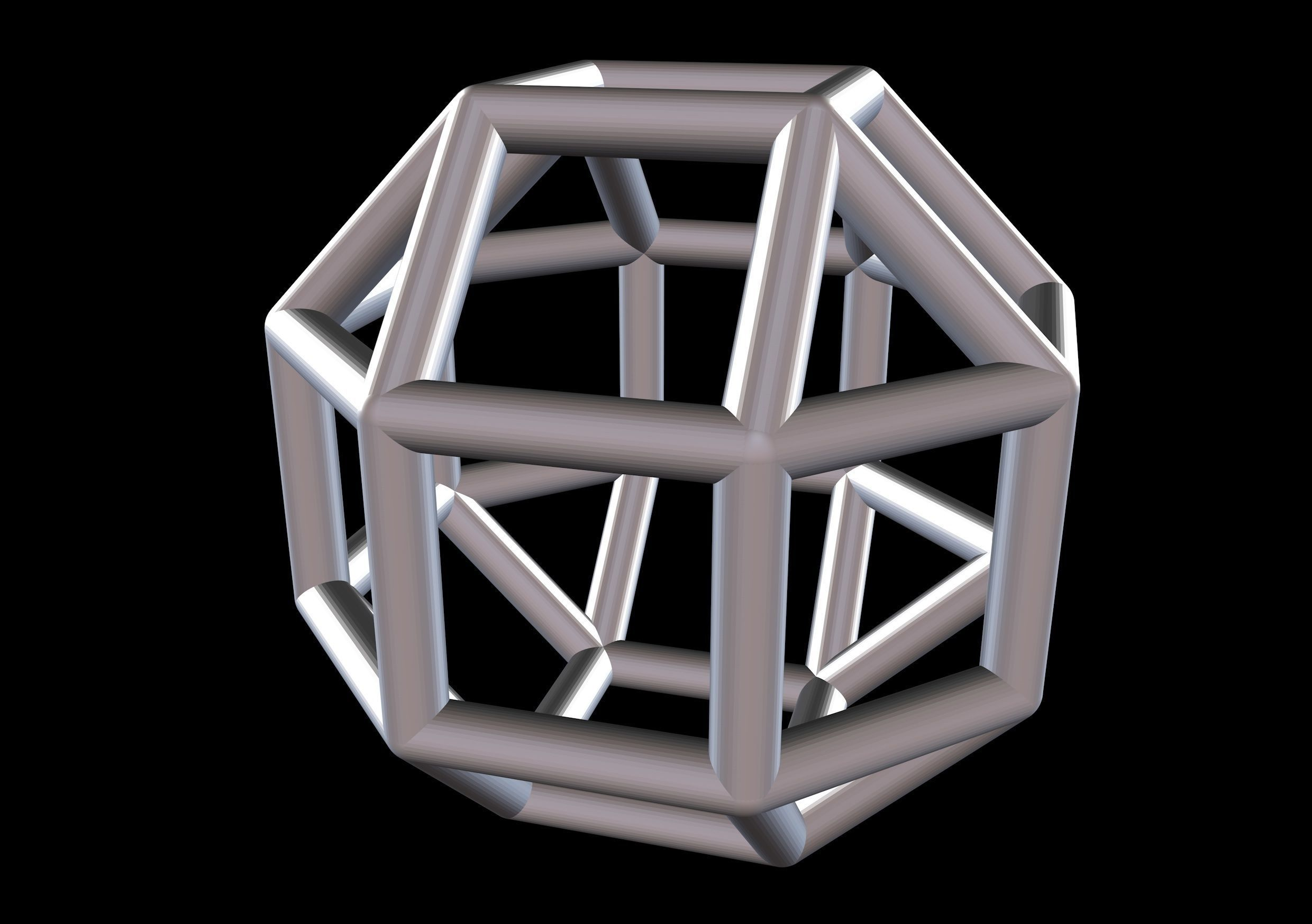 031 Mathart-Archimedean Solids-Small Rhombicuboctahedron 01-10cm