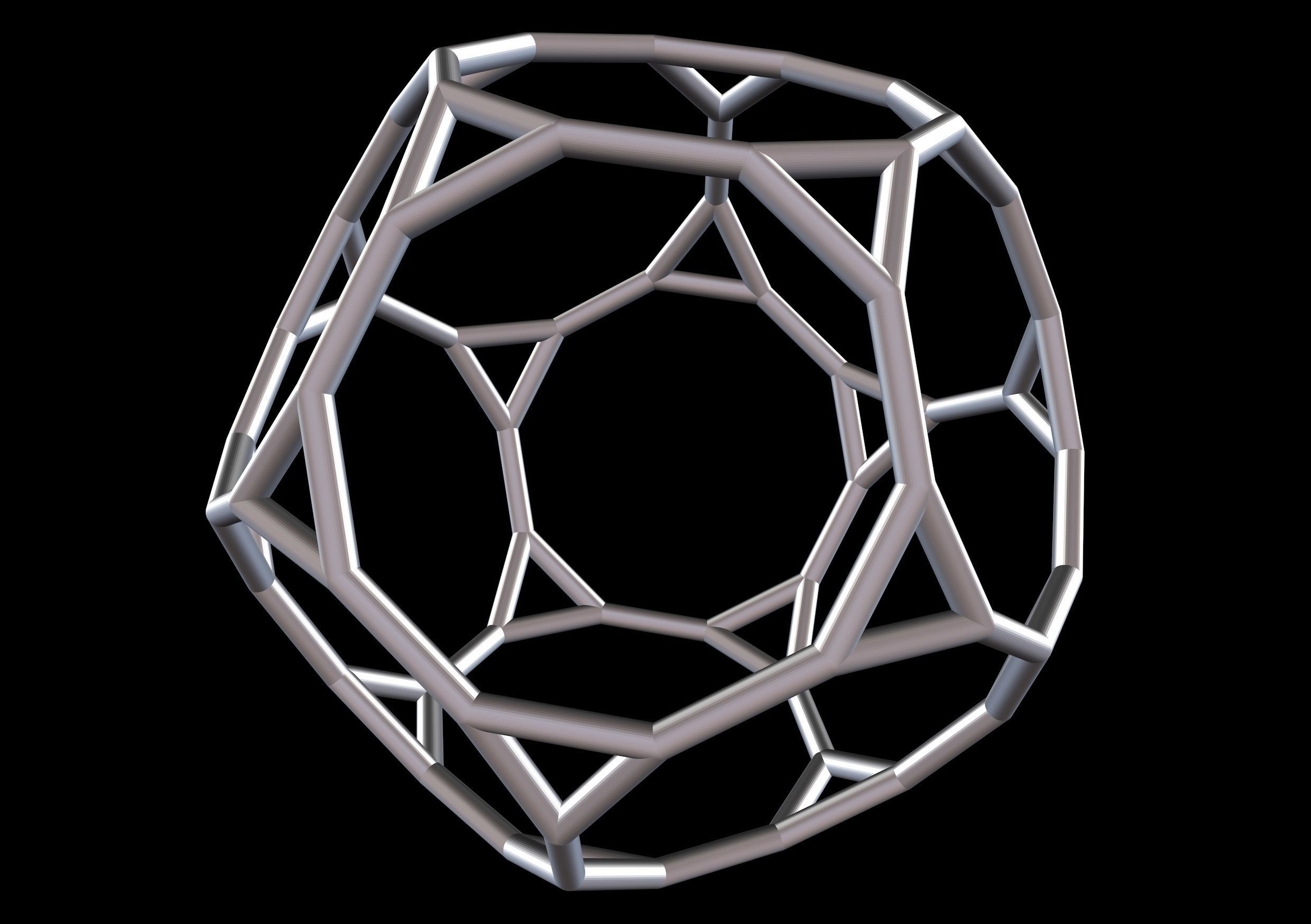 043 Mathart-Archimedean Solids-Truncated Dodecahedron 01-10cm