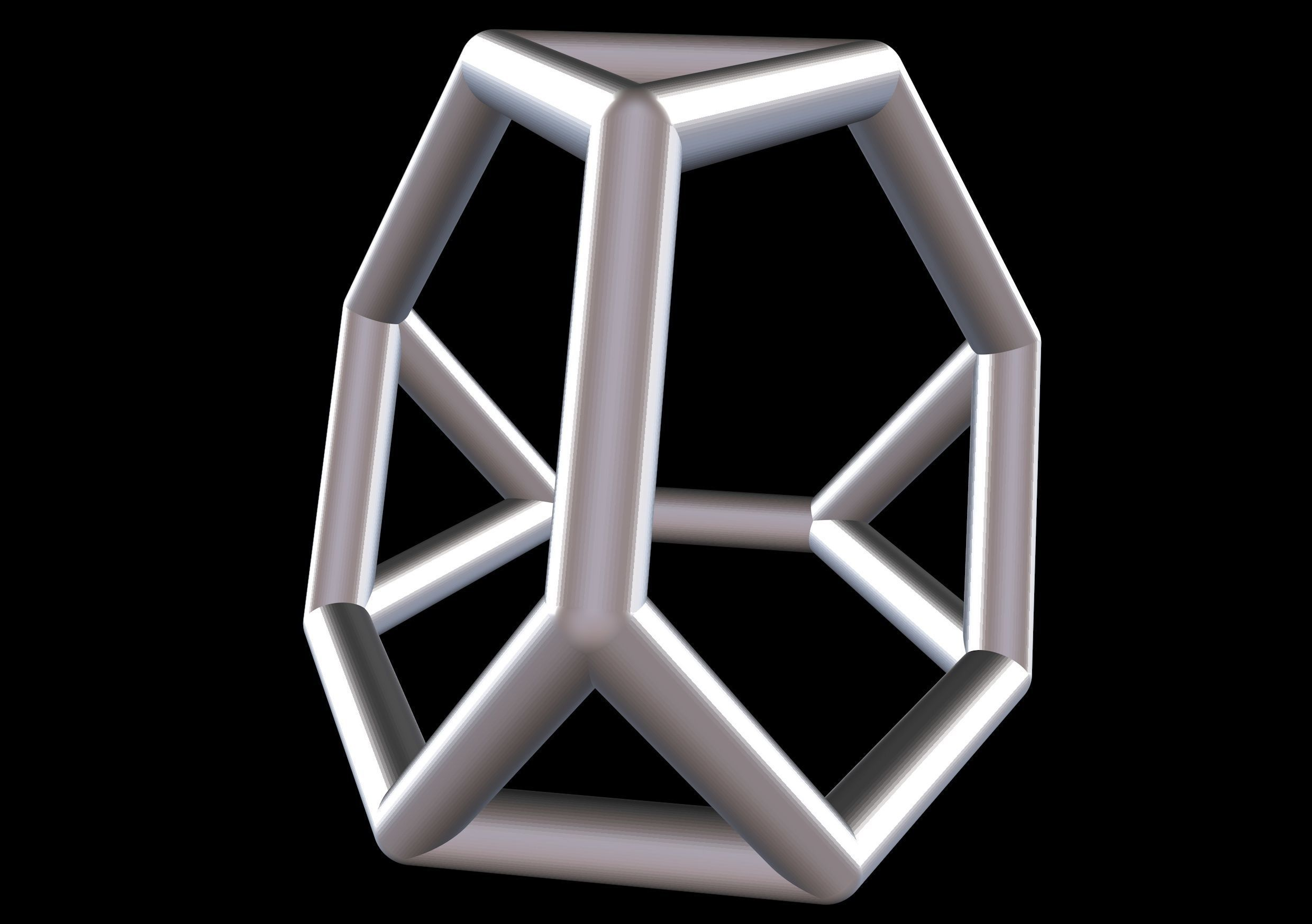 052 Mathart-Archimedean Solids-Truncated Tetrahedron 01-10cm