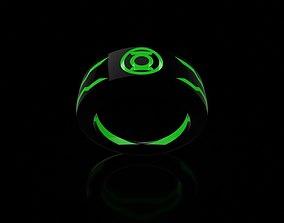 3D printable model Green Lantern Custom Ring