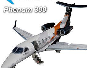 3D model Embraer Phenom 300