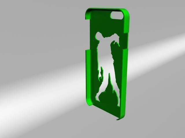 Iphone 6 Case 3d Model 3d Printable Stl Cgtrader Com