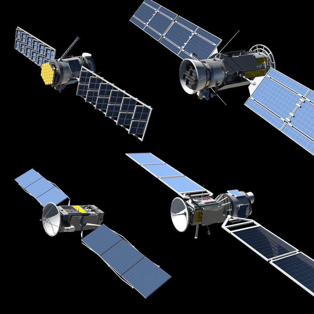 4 Satellites PLUS Build your own Satellite kit