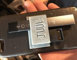 3D printable model JUUL mounting case