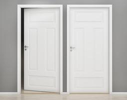 Interior door 03 3D