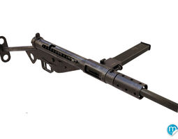 3D Sten MK2 smg