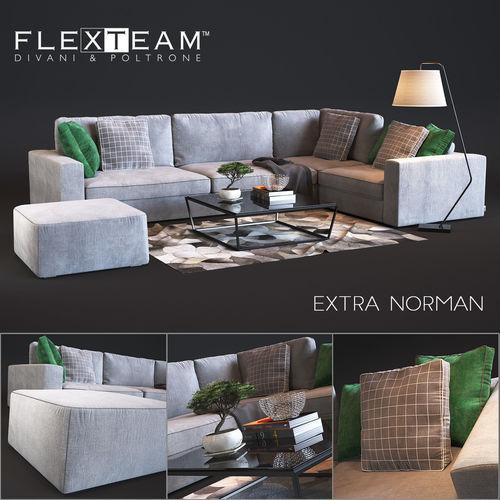 flexteam extra - norman 3d model max obj mtl 1