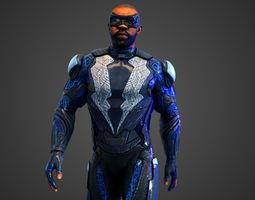 Black Lightning TV 3D model