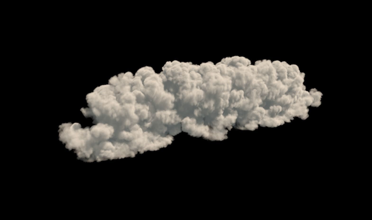 Realistic 3d cloud VDB format | 3D model