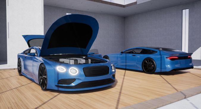 Generic Sports GT 2 Door Coupe