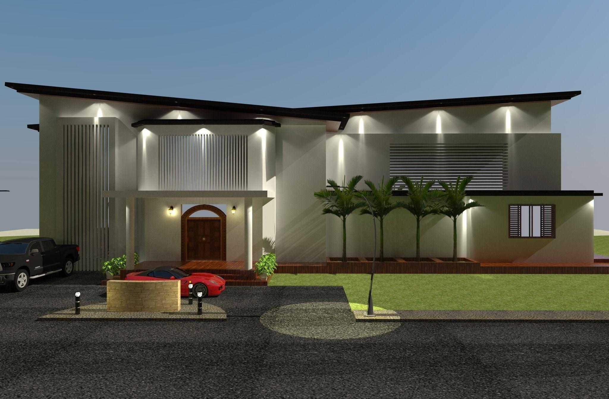 3d model beach house