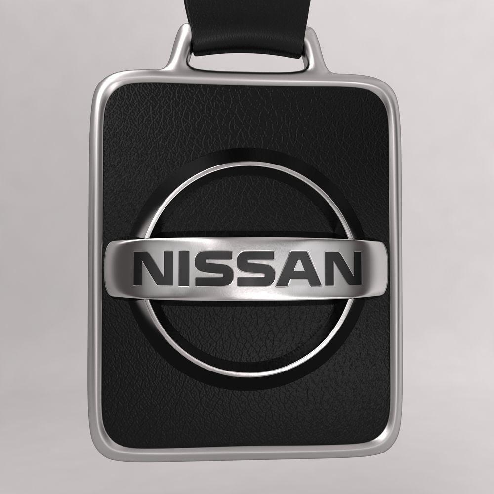 Nissan Car Logo Keychain 3d Model Cgtrader