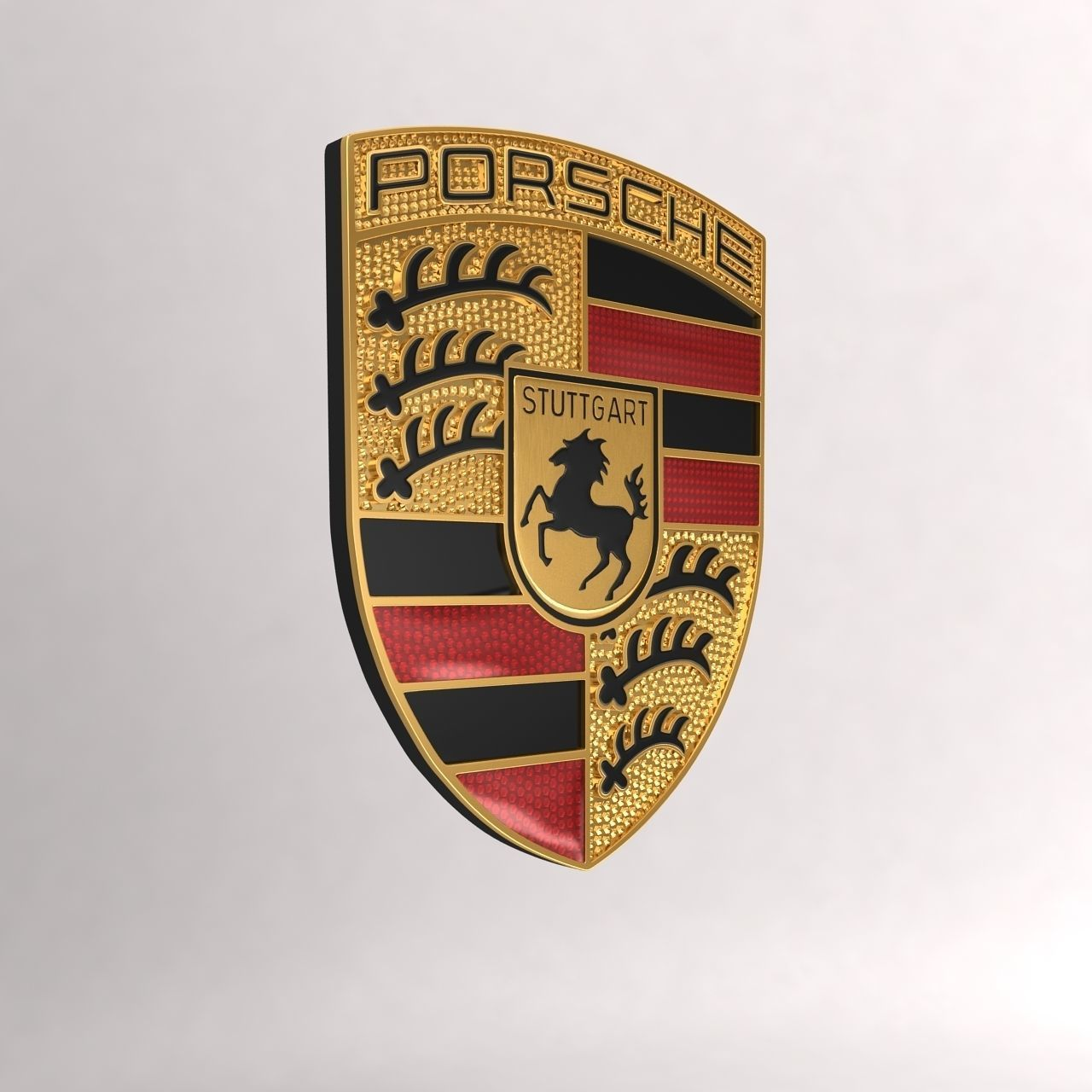 Keychain Porsche Car Logo 3d Model Cgtrader