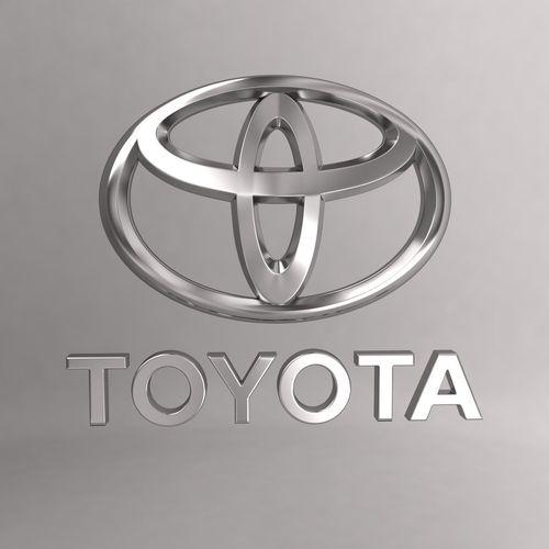 Toyota Car Logo Keychain 3d Model Cgtrader