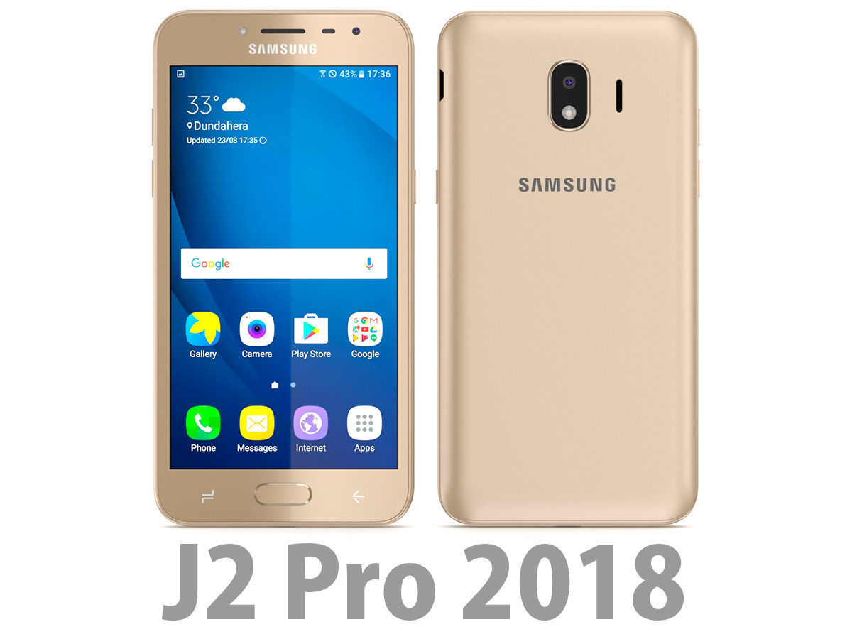 Samsung Galaxy J2 Pro 2018 Gold