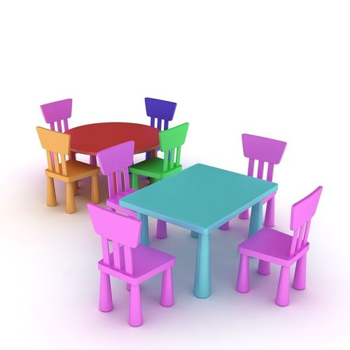 Ikea Mammut Chairs And Table Model
