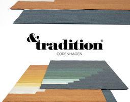 Tradition Vulacano Rug Set 3D