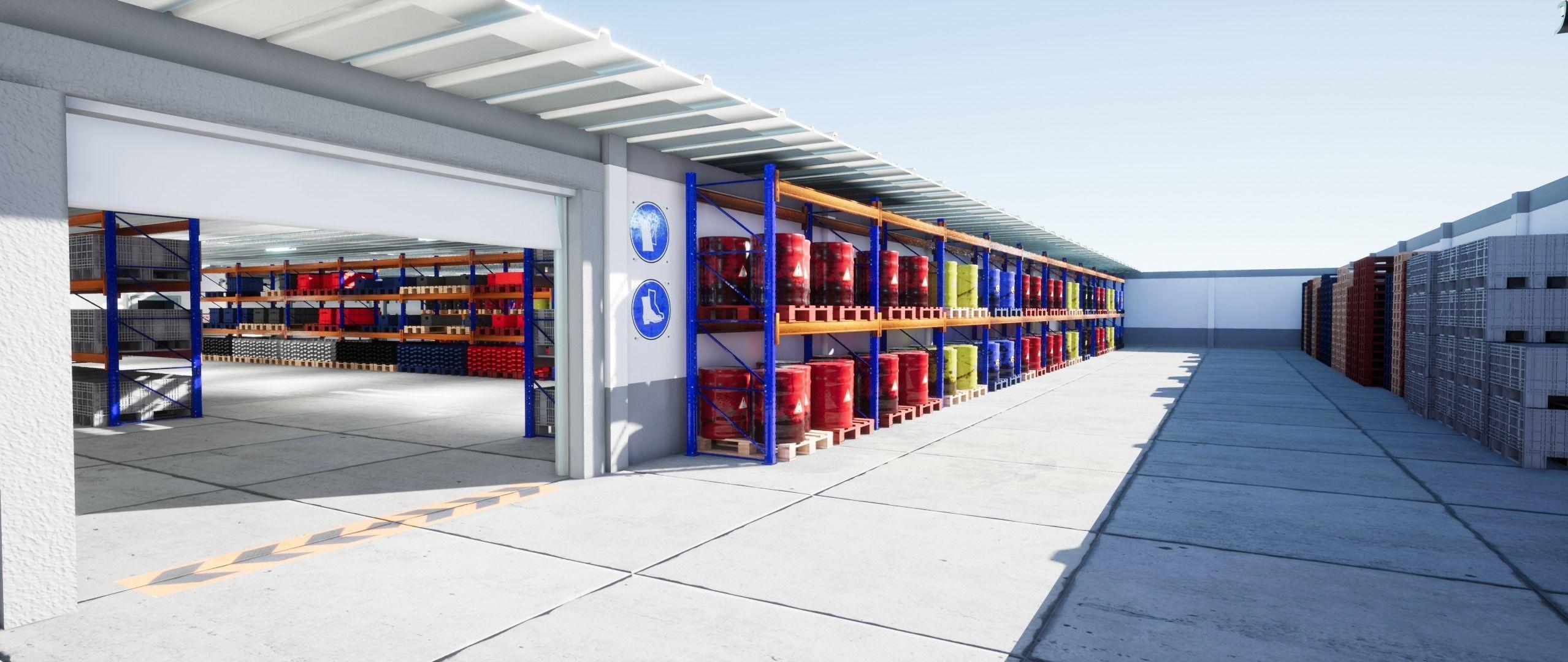 Warehouse Props Unreal Engine 4 | 3D model