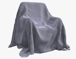 Fabric Cover V2 3D model