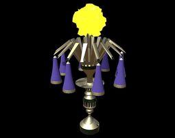 Magic Lamp of Ancient Hyperborea - Fire Flower 3D