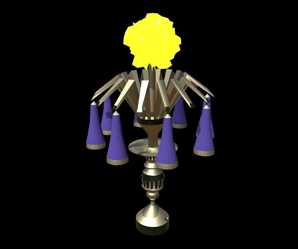 Magic Lamp of Ancient Hyperborea - Fire Flower
