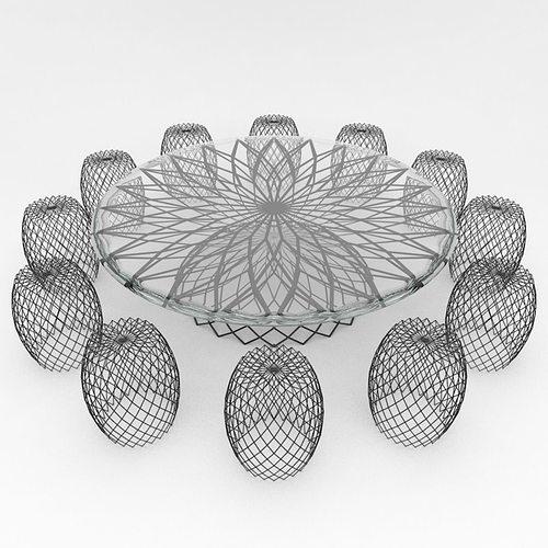 - Mesh Outdoor Furniture 1 3D CGTrader