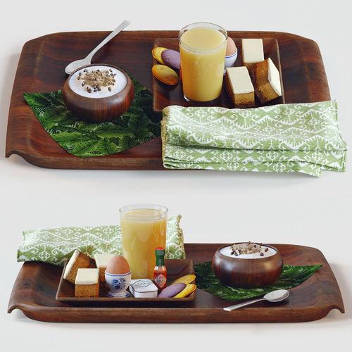 breakfast in bed 3d model max obj mtl fbx 1