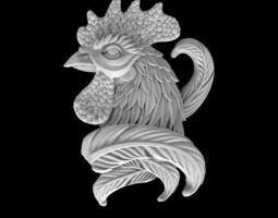 3D print model cock bird