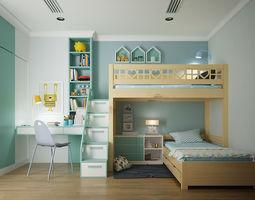 3D Kids bedroom