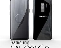 3D Samsung Galaxy S9 Plus Midnight Black