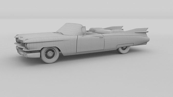 1959 Cadillac Eldorado 62 Series Pack 3D et | CGTrader