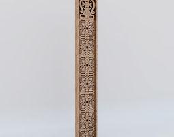 islamic ornament 3D
