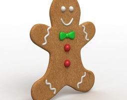 Gingerbread Man 3D