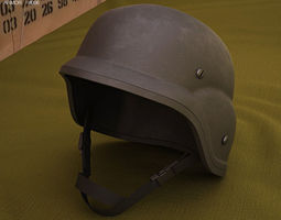 3D model PASGT Helmet
