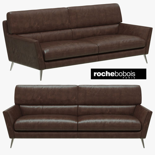 roche bobois tocade large seat sofa d model