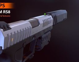 FPS COM RS8 - Model and Textures low-poly