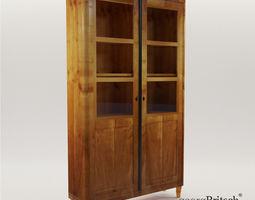 Biedermeier bookcase - Munich 1830 - Georg 3D model