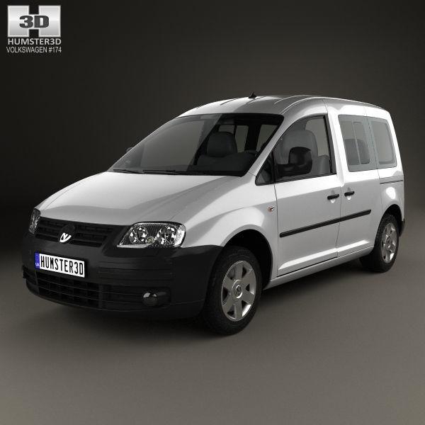 Verrassend 3D model Volkswagen Caddy 2004 | CGTrader YL-05