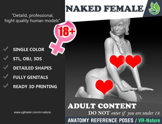 erotic decor statue 1803071 3d model obj mtl 3ds stl 1