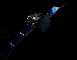3d photorealistic satellite