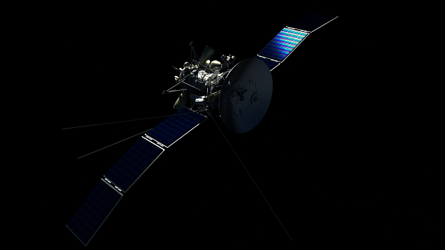 photorealistic satellite 3d model c4d 1