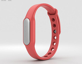 band 3D model Xiaomi Mi Band Red