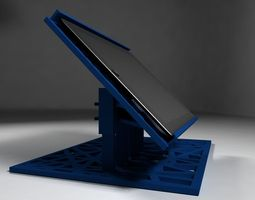 iPad Holder 3D printable model