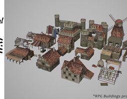 3D model Village L3