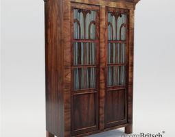 3D model Biedermeier book case - Austria 1830 - Georg